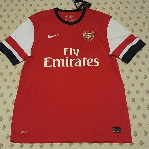 5b7240aaa Nike Arsenal FC Ozil 11 2012-2014 Jersey